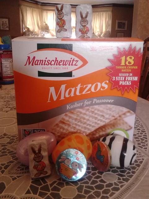 matzah eggs