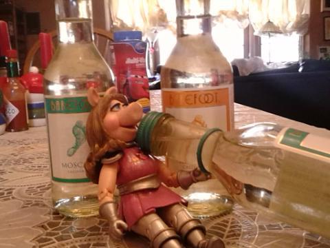 piggy bottles