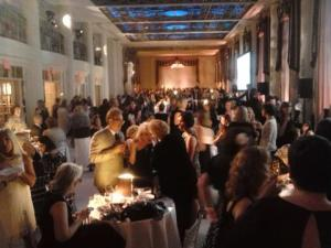 Friday: dancing the night away at the Harlequin party, held in the Starlight Room at the Waldorf Astoria.